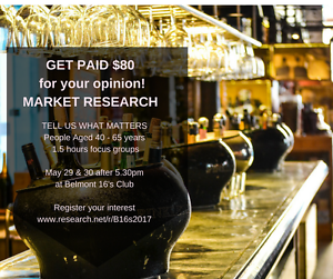 PARTICIPANTS FOR MARKET RESEARCH - GET PAID $80 FOR YOUR OPINION Belmont Lake Macquarie Area Preview