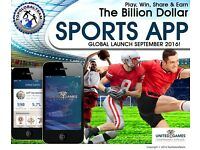 NEW INTERACTIVE SPORTS APP... WILL GO VIRAL!!!