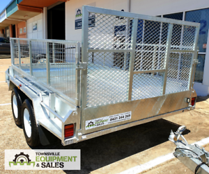 8x5, 10x5, 10x6 HEAVY DUTY TANDEM BOX TRAILERS FROM $3660 Currajong Townsville City Preview
