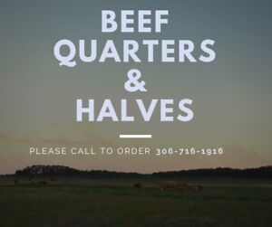 Local, ranch raised beef