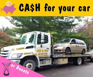 CA$H FOR TRASH Scrap Vehicle Removal & Metal Buyers. Vehicle Donation. Steel, Aluminum, Copper, Batteries, Iron
