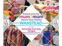 WANSTEAD Mum2mum Nearly New Baby, Children's and Maternity Market: Saturday 21st July 12-2pm