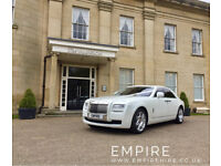 ROLLS ROYCE HIRE - WEDDING CAR HIRE - EMPIRE - CAR HIRE