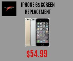 iPhone 6s screen replacement on spot only $55
