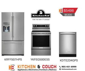 Kitchenaid Stainless steel Appliance Package | Sale on Appliances (KTN402)