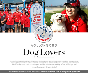 Attention Dog Lovers! Aussie Pooch Mobile Dog Wash Available Wollongong Wollongong Area Preview