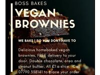 Vegan Brownies - Liverpool Home Delivery