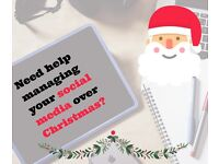 Need help managing your social media over Christmas?