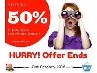 Ecommerce | Wordpress | Web Design | Logo Design |Responsive |