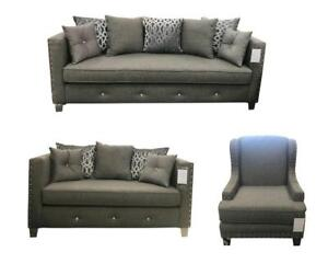 FABRIC SOFA SET FOR SALE | COUCH SALE HAMILTON (BD-402)