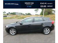 VOLVO V40 1.6 D2 SE,2015,Alloys,Air Con,DAB,Bluetooth,83mpg,£0 Road Tax,F.S.H
