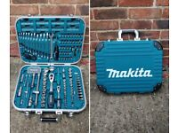 Genuine Makita Tool Set P-90532 General Maintenance Kit Spanner Socket Set New Free Delivery