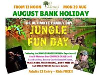 Jungle family funday....