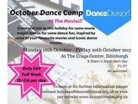 October Dance Camp for Children