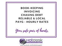 Reliable & fast book-keeping service - local & PAYG