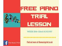 FREE PIANO LESSONS WEEK