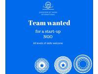 Volunteer Wanted: NGO start-team