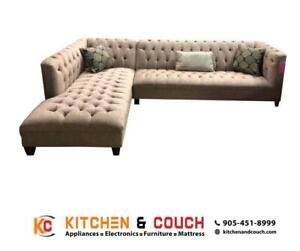 FABRIC SECTIONAL SOFA | TORONTO (KC2404)