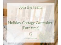 Glen Tanar Estate - Holiday Cottage Caretaker (part-time). Permanent housing available.