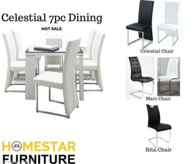 Celestial 7pc Dining Set - Best Seller