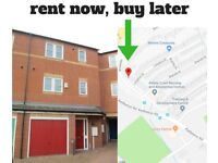Rent Now Buy Later 3 Bed Townhouse Derby DE22