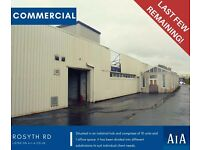 COMMERCIAL PROPERTIES TO LET - ROSYTH ROAD, GLASGOW