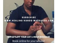 Healing Hands Massages & Sport Therapy from £25