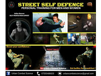 STREET SELF DEFENCE - SELF PROTECTION - STREET FIGHTING - PERSONAL TRAINER - 1 2 1 TUITION AVAILABLE