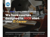 Looking for career in IT ? Join Free Funded Courses @ITPT Edinburgh