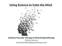 Are you feeling stressed, anxious or lack confidence? Why not try Solution Focused Therapy