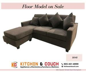 FLOOR CLEARANCE FURNITURE | SECTIONAL COUCH (KC2351)