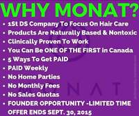 4 days left to be a Founder of MONAT
