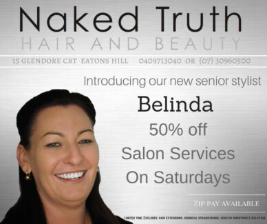 50% of Hairdresing Service
