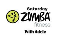 Saturday Zumba Fitness with Adele - Every Saturday From 03.02.18 - 9.30am - 1st class always FREE