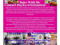 Bake With Me children's parties