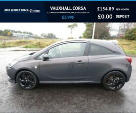 image for VAUXHALL CORSA 1.2 LIMITED EDITION,2015,17*Alloys,Bluetooth,DAB,Air Con,Cruise,F.S.H