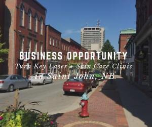 Turn-Key Laser + Medical Aesthetics Franchise Opportunity in Saint John