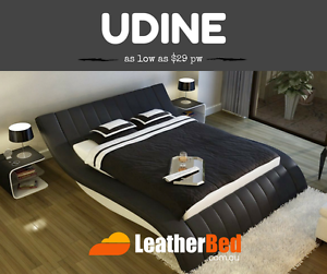 Quality FULLY Leather Bed Styles Queen Or King From $29 per week Malaga Swan Area Preview