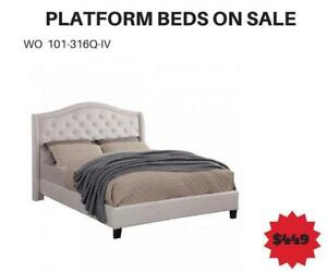 Grey Bed Sale Toronto-WO 7616 (BD-2616)