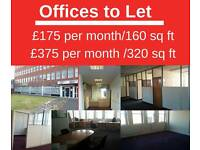 160 sq ft office for £175 per month