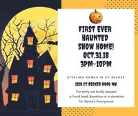 Edmonton's First Ever Haunted Show Home