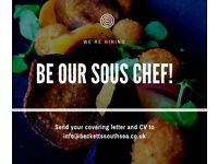 Sous Chef and Chef de Partie positions at Becketts