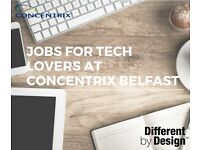 Customer Service jobs in Belfast city centre!