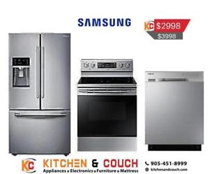 Lowest Price Guaranteed on Samsung Appliances Package (SAM903)