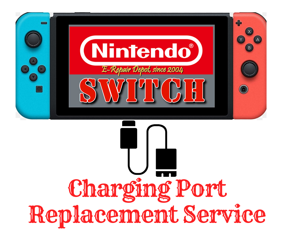 Nintendo Switch USB Charging Port Repair Replacement Service Motherboard ONLY  - $25.00