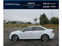 AUDI A4 2.0 TDI S LINE 2017,1 Owner,19*Alloys,DAB,Sat Nav,Bluetooth,Half Leather,Spotless Condition