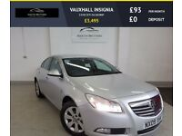 VAUXHALL INSIGNIA 2.0 SE CDTI 5d 160 BHP 6 SPEED, AUX PORT, TRACTION (silver) 2009
