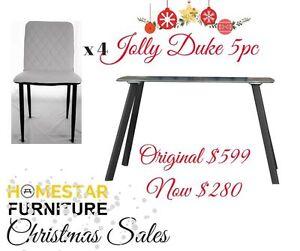 Jolly Duke 5pc Square Glass Dining Setting Orig $599 Now $280 Sydney City Inner Sydney Preview