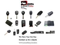 Car Key Replacement, Cloning and Repair Services in London