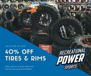 ATV / UTV TIRES! (40% Off)